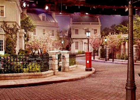mary poppins in cherry the set of cherry tree lane from mary poppins mary poppins trees set of and
