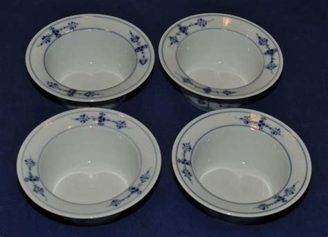 ebay denmark set of 4 very nice royal copenhagen denmark blue fluted