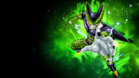 dragon ball cell wallpaper perfect cell wallpapers wallpaper cave