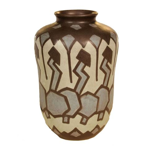 deco vase by villeroy and boch at 1stdibs