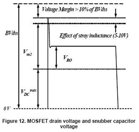 snubber capacitor voltage rating electronic device and electronic circuit design the mosfet rcd snubber circuit
