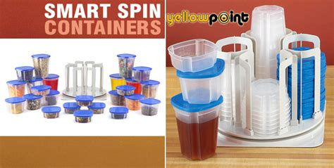 Marvel Spin N Store Kitchen Organizer With 24 Plastic Storage 1 49 tupperware storage system