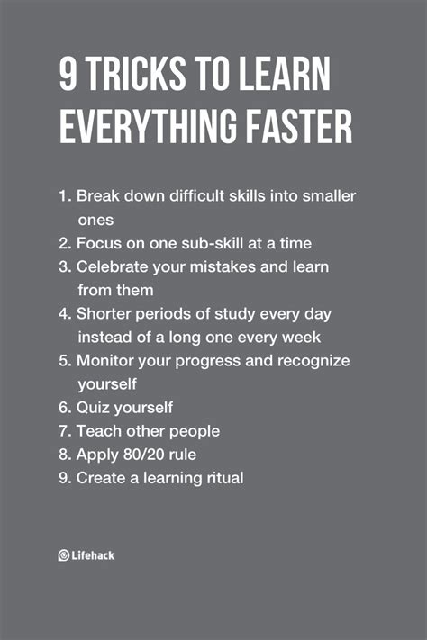 learn any skill faster and better than anyone else speed read think fast and remember more like elon musk books 9 tricks to learn everything 10 times faster lifehack