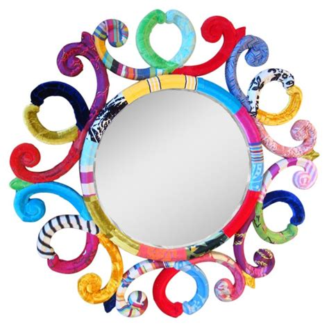 41 best colourful mirrors images on ideas