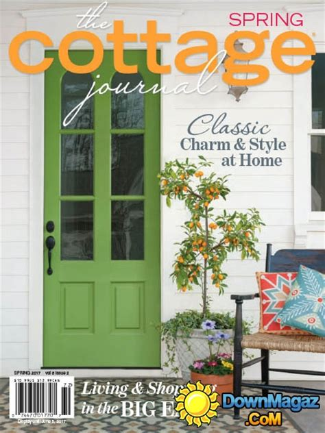 cottage style magazine the cottage journal spring 2017 187 download pdf magazines