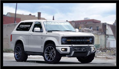 new ford 2018 bronco 2018 ford bronco may be facelifted everest carbuzz info