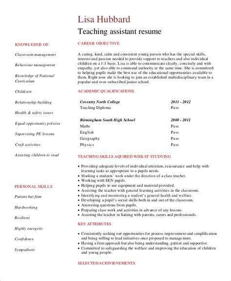 Resume Exles For A Assistant Student assistant objective statement for resume 28 images