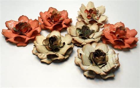 gardenia paper flower tutorial 47 best images about crafty tim holtz tattered florals on