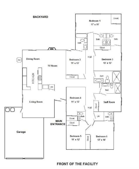 Assisted Living Facility Floor Plans by 28 Floor Plans For Assisted Living Facilities Floor