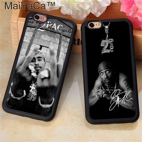 maiyaca fashion pac tupac shakur printed soft tpu mobile
