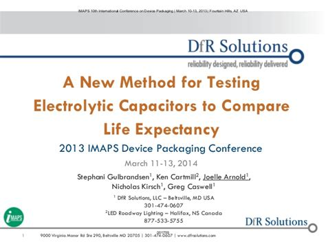capacitor testing method capacitor test comparison 28 images a new method for testing electrolytic capacitors to