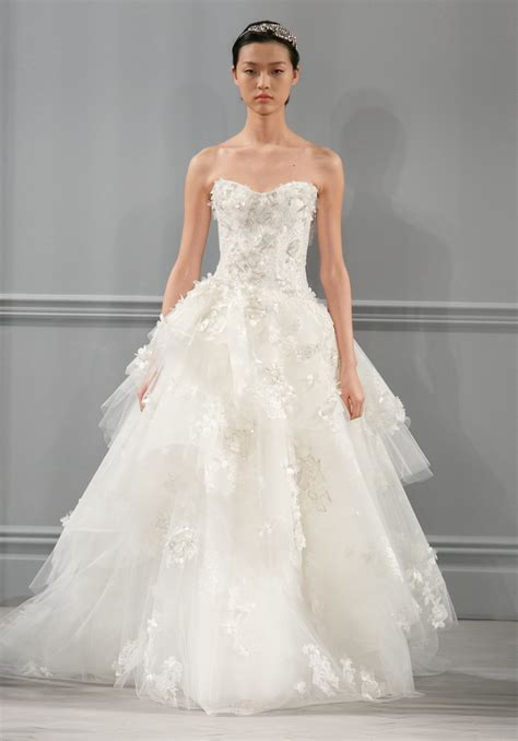 monique lhuillier bridal 2014 spring 2014 wedding dress monique lhuillier bridal bijou