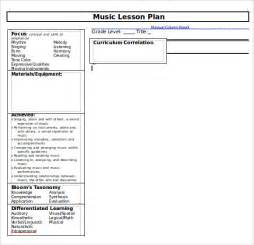 lesson plan template doc sle lesson plan template 8 free documents in