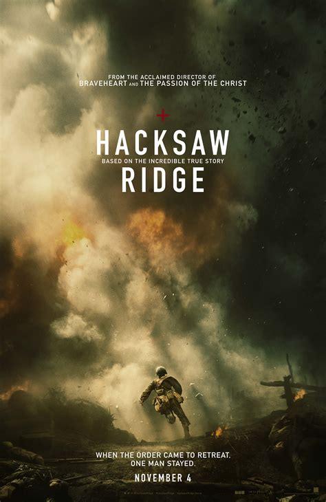 hacksaw ridge hacksaw ridge poster teases mel gibson s comeback collider