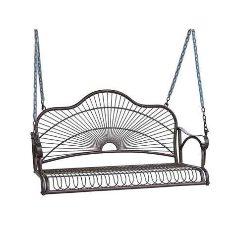 iron porch swing iron porch swing 3484