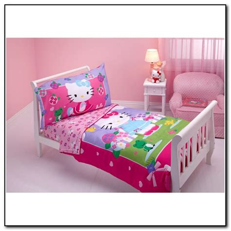 hello kitty bunk bed hello kitty twin bed in a bag beds home design ideas