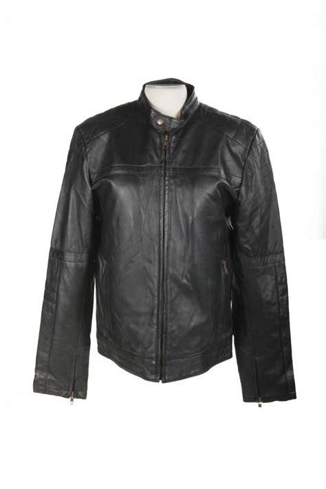 design leren jas leren jas heren zwart m01 leathercity