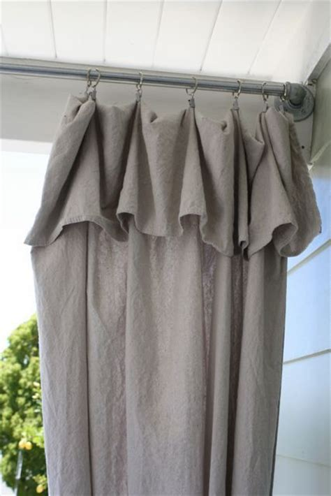 how to make ruffle top curtains 1000 ideas about diy curtains on pinterest diy curtain