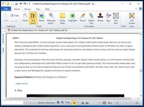 best pdf reader 10 best free pdf reader software for windows 2018 edition