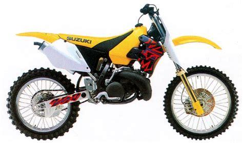 Suzuki Rm 250 1998 Suzuki Rm250 And Rmx250 Model History
