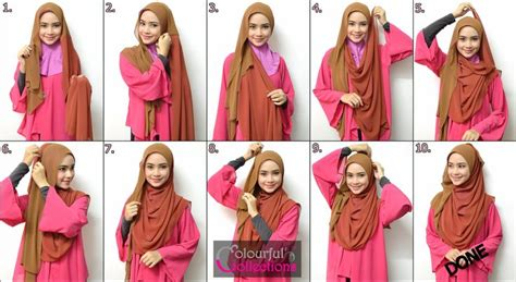 tutorial pashmina cashmire hijab shawl tutorial stepbystep hijab tutorials