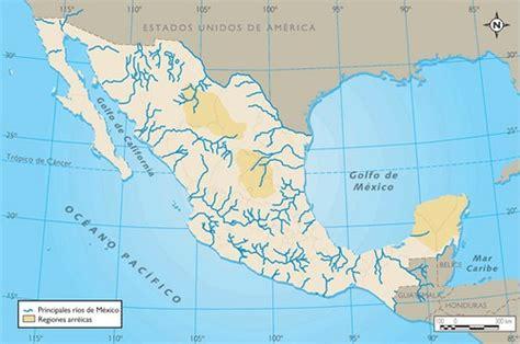 mapa de mexico con rios principales r 237 os de m 233 xico blogitravel viajes y