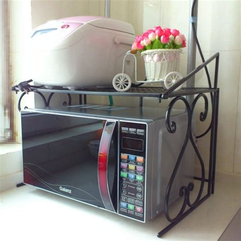 Where Can I Buy Oven Racks by Iron Kitchen Racks Microwave Oven Rack Multifunction