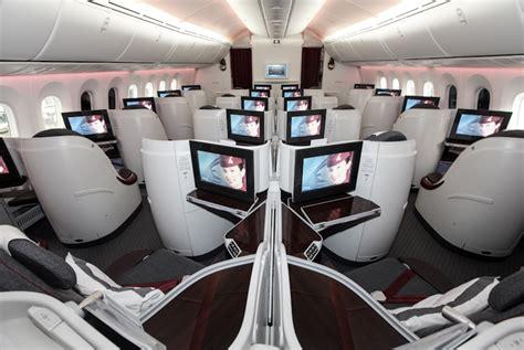 Qatar Airways Interior by Boeing 787 Dreamliner Qatar Airways To Doha
