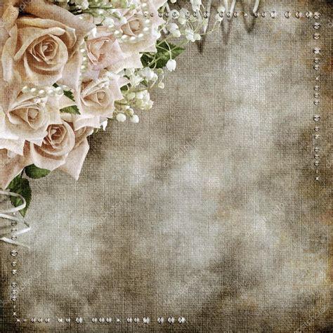 Romantische Hochzeit by Hochzeit Vintage Romantischen Hintergrund Mit