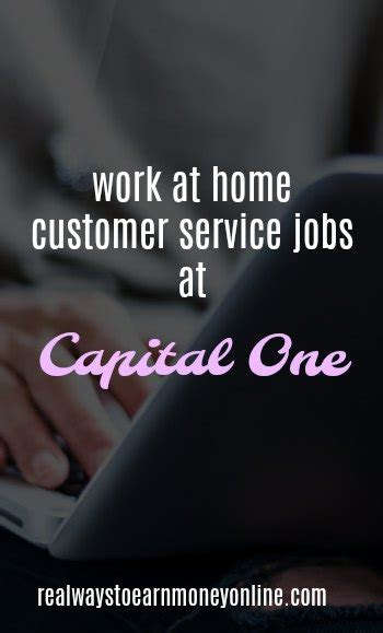 Work From Home Online Customer Service Jobs - capital one work from home jobs make 13 hourly