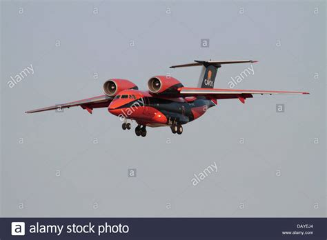 air freight transport antonov an 74 cargo plane in the colours of stock photo 58381852 alamy