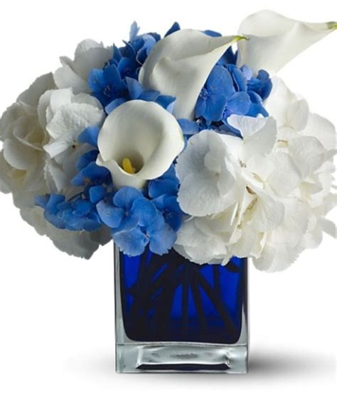 blue hydrangea flower arrangements blue hydrangea flower arrangement with vase here are