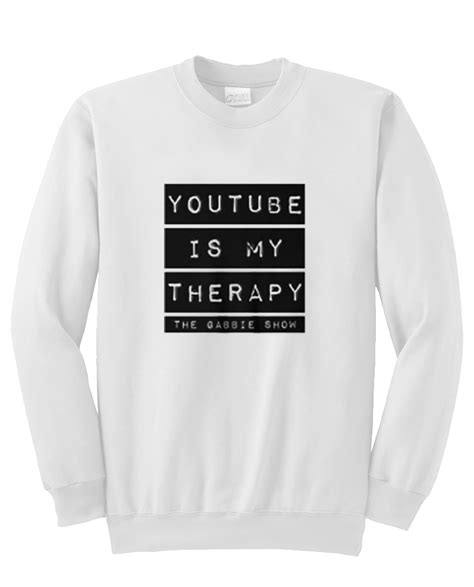 my as a therapy is my therapy sweatshirt