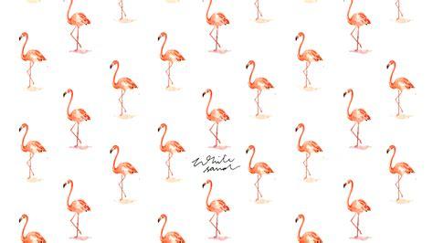 flamingo pattern wallpaper
