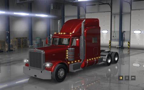 peterbilt and kenworth bumper sets of kenworth w900 on peterbilt 389 for ats