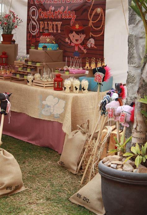 imagenes fiesta vaquera infantil cowboy party table decoration by trastoleando fiesta de