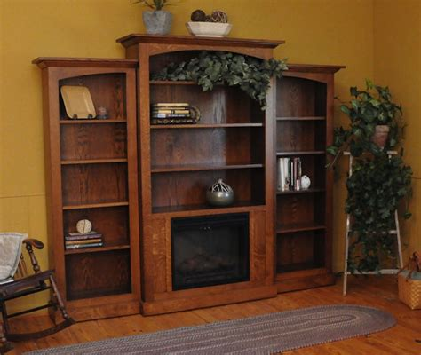 Electric Fireplace For Bookcases Roselawnlutheran For Electric Fireplace With Bookshelves