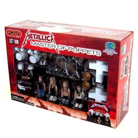 Metalica Boxed Set Figure Figure galleon metallica master of puppets smiti figure playset