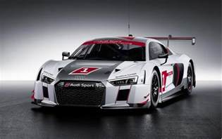 2016 audi r8 lms race car debuts at 2015 geneva motor show