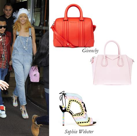 After Can Givenchy Lacroix And Chanel Measure Up by Rihanna Wears Givenchy And Webster