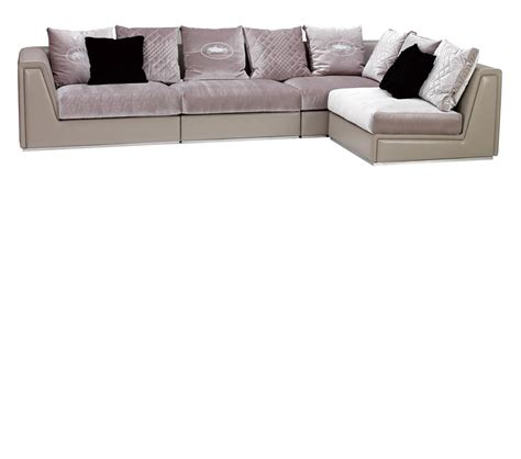 leather and fabric sectionals dreamfurniture com deco style leather and fabric