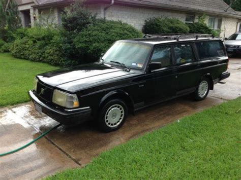 1992 volvo wagon buy used 1992 volvo 240 base wagon 4 door 2 3l in houston