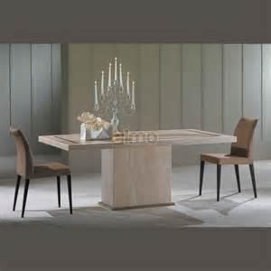 tables salle 224 manger bicolore tout marbre vasari