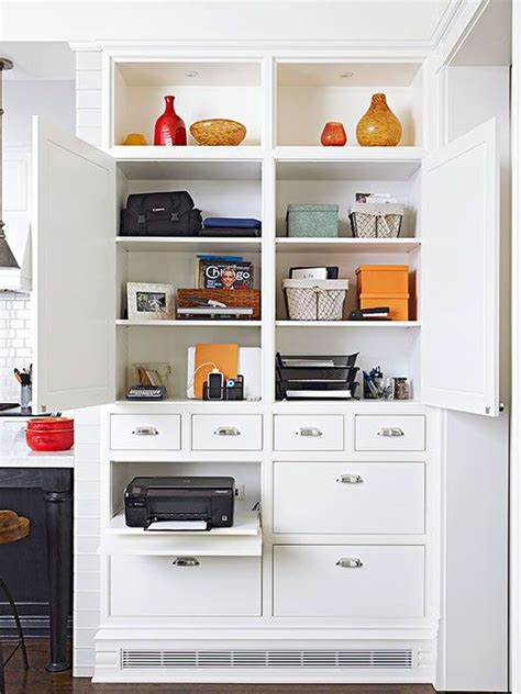 100 hidden printer cabinet home office printer storage innovation yvotube com computer 20 clever ideas to design a functional office in your kitchen