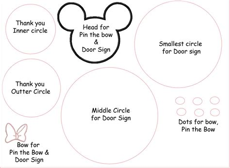 minnie mouse ears template template for mickey mouse ears cliparts co