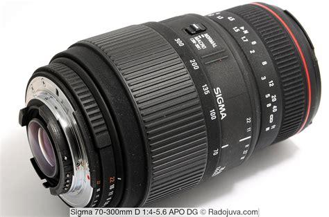 Sigma 70 300 Apo sigma 70 300mm d 1 4 5 6 apo dg