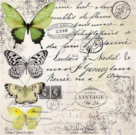 imagenes vintage animales l 225 minas decoupage mariposas rosas vintage transfer