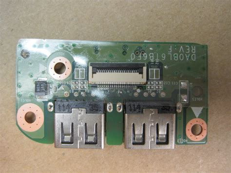 usb ports module for toshiba satellite l750 bt4n22 psk1wu 0up04g new genuine ebay