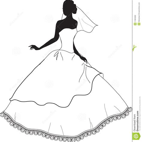 Z Wedding Clip by Silhouette Stock Illustration Illustration Of