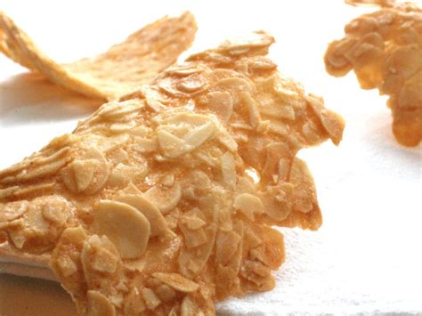 Tuile Recipe by Almond Tuile Recipe Light And Easy To Make Nathalie Bakes